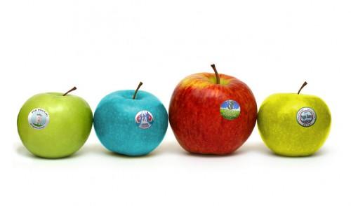 fila di mele