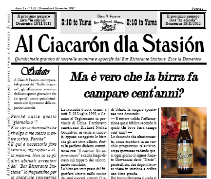 Al Ciacaròn dla Stasiòn